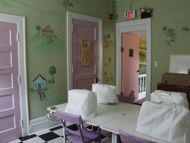 Enchanted Makeover for our Resident Shelter 3