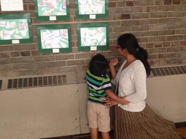 Learning Center Family Art Show 3