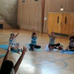 Students Finding Mindfulness Through Yoga