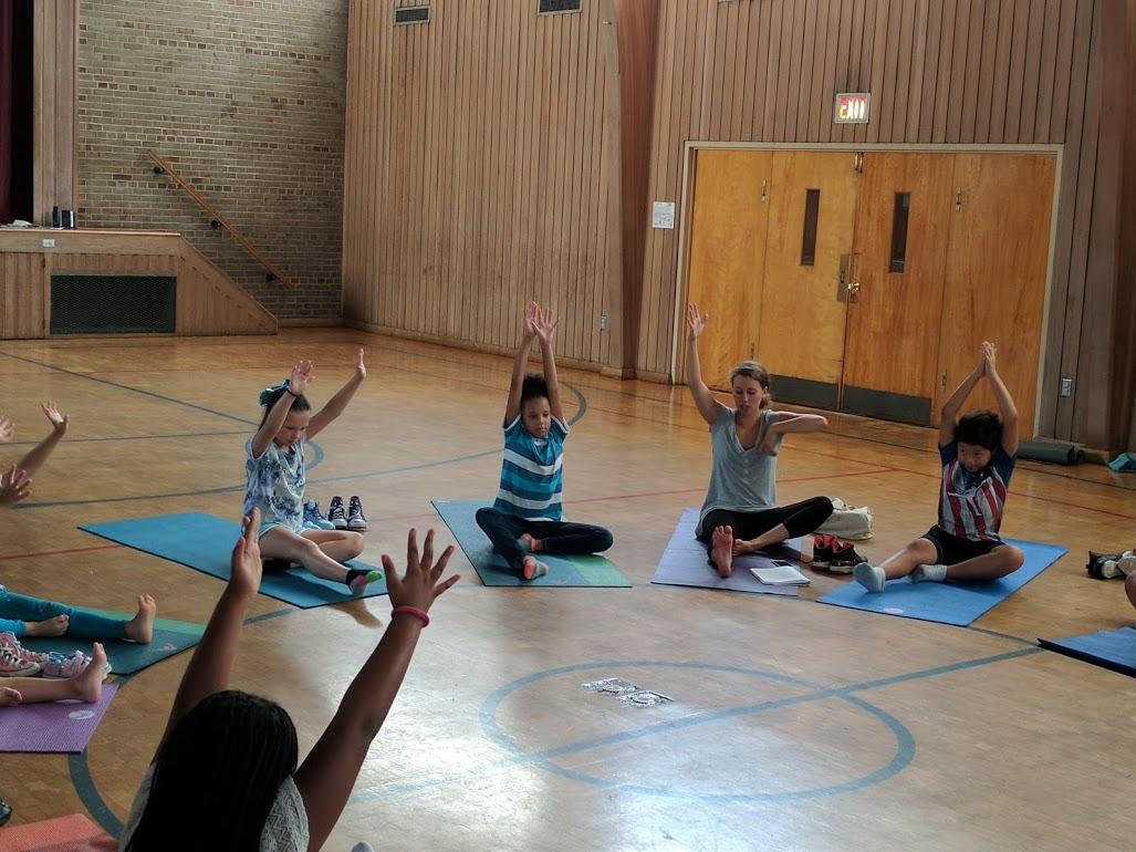 Students Finding Mindfulness Through Yoga 1