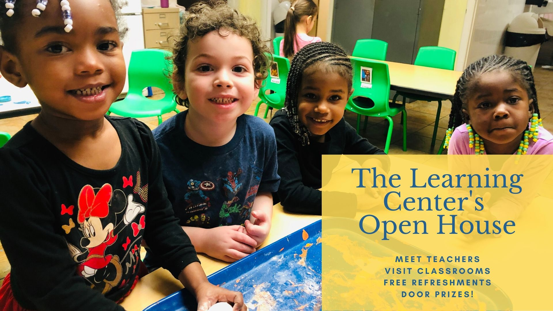 The Learning Center Open House event