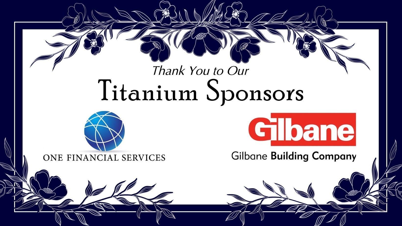 Titanium Sponsors