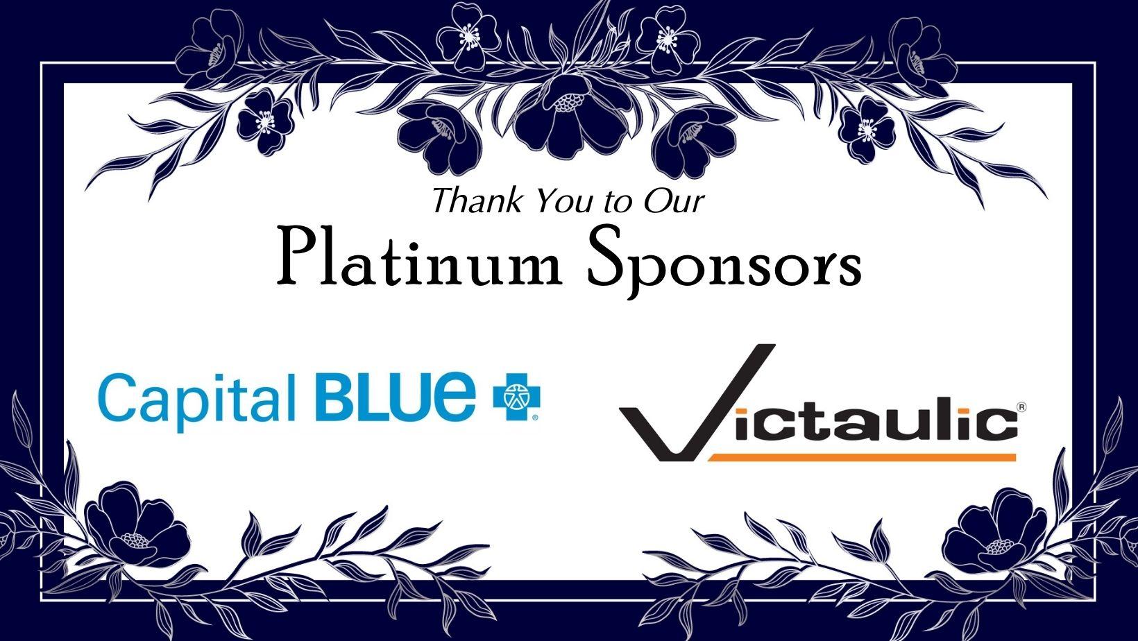 Platinum Sponsors March 10