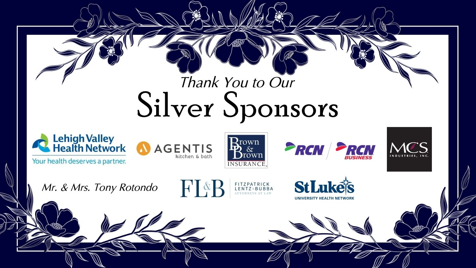 Silver Sponsors March 31